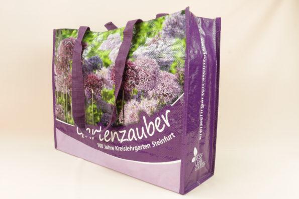 Gartenzauber 10470 hinten, Recycling, Nachhaltige Taschen, Recycling