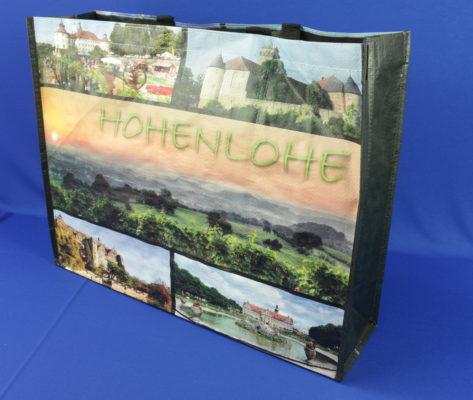 Permanent Tragetasche Hohenlohe Motiv